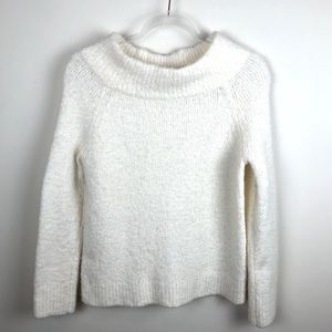 Anthropologie Moth Boucle Cowl Neck Sweater Small